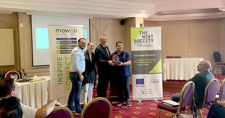 The first cohort of THE NEXT SOCIETY Levant Mentoring Program graduate in Jordan