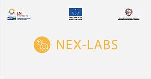 nex labs logo strip