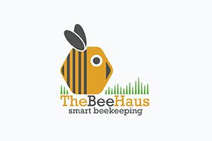 The bee haus logo