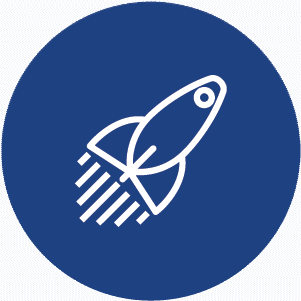 Spark icon used for CFA blue