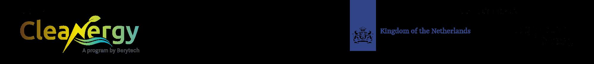 Cleanergy logo strip