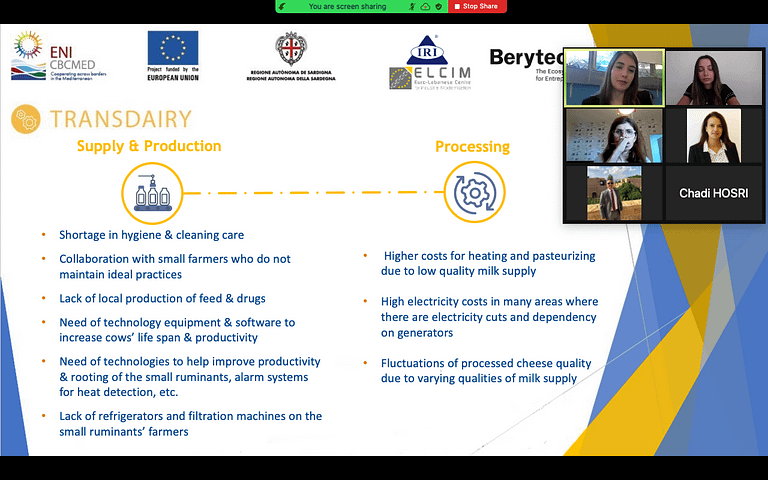 TRANSDAIRY: Focus Group on the contribution of Bio Nano Technology in the Dairy Value Chain