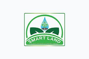Smart land logo
