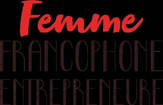 Femme Francophone Entrepreneure Logo