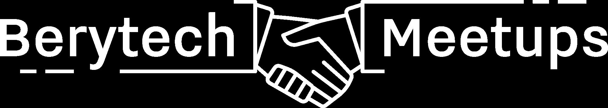 Berytech meetups logo white
