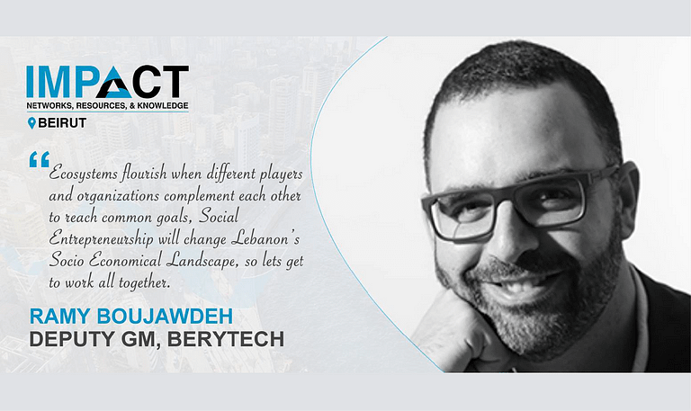 Ramy at ImpACT Beirut_quote